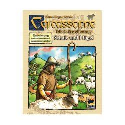 Carcassonne 9. kiegészítő - Dombok és juhok