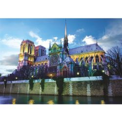 Deico Games 1000 db-os puzzle - Notre Dame de Paris, France - 76069