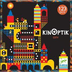Djeco 123  db-os Optikai puzzle - Kinoptik Ville 05610