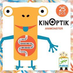 Djeco 25 db-os Optikai puzzle - Kinoptik Animonster 05600