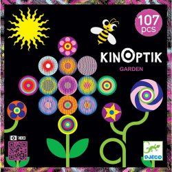 Djeco 107 db-os Optikai puzzle - Kinoptik Garden 05602