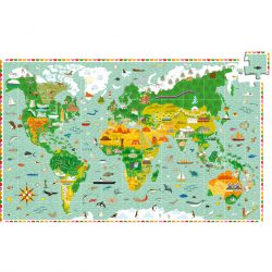 Djeco 200 db-os Megfigyeltető puzzle - Lenyűgöző világ 07412