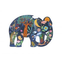 Djeco 150 db-os Művész puzzle - Elephant 07652