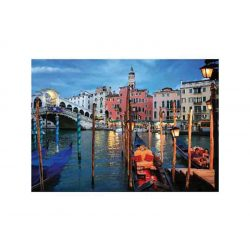 D-Toys 1000 db-os puzzle - Nocturnal Landscapes: Venice, Italy - 70555