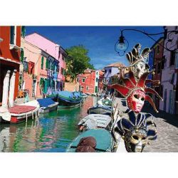 D-Toys 1000 db-os puzzle - Landscapes: Burano, Italy - 70814