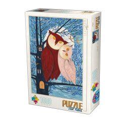 D-Toys 500 db-os puzzle - Kürti Andrea - Owl Tales - 75758