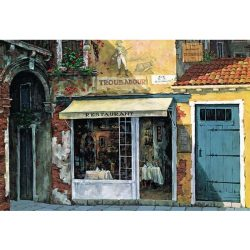 Viktor Shvaiko-Troubadour restaurant, 2000 darabos Educa puzzle
