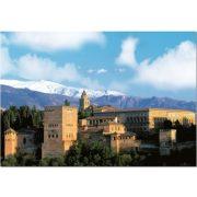 Alhambra erőd - Spanyolország, 1000 darabos Educa puzzle