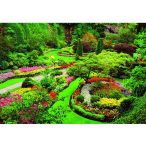 Butchart-kert-Kanada, 1000 darabos Educa puzzle