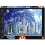 A világ legmagasabb épületei, 1000 darabos Educa puzzle