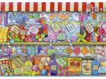 Édességbolt-Candy Shop, 1000 darabos Educa puzzle