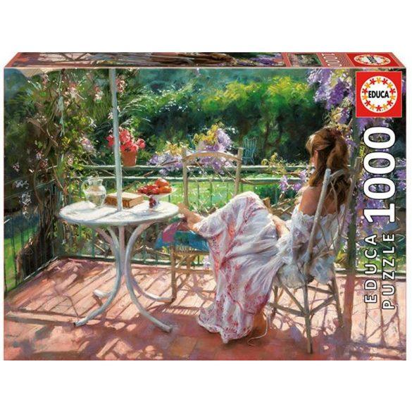 Among Wisterias - Romero, 1000 darabos Educa puzzle
