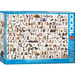 Eurographics 1000 db-os puzzle - The World of Dogs - 6000-0581