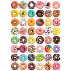 Eurographics 1000 db-os puzzle - Donuts - 6000-0585