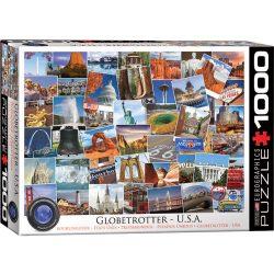 Eurographics 1000 db-os puzzle - Globetrotter USA - 6000-0750
