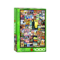 EuroGraphics 1000 db-os Puzzle - Travel around the World - Vintage Posters - 6000-0755