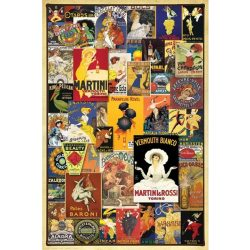 Eurographics 1000 db-os Puzzle - Vintage Posters - 6000-0769