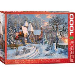 EuroGraphics 1000 db-os Puzzle - Dominic Davison: Christmas Cottage - 6000-0790