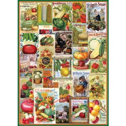 Eurographics 1000 db-os puzzle - Vegetables Seed Catalogue - 6000-0817