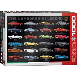 Eurographics 1000 db-os puzzle - The Lamborghini Legend - 6000-0822