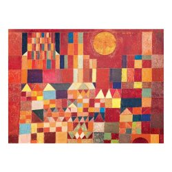 Eurographics 1000 db-os Puzzle - Paul Klee - Castle and Sun - 6000-0836