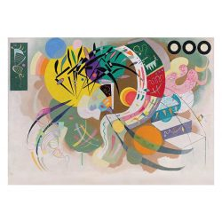 Eurographics 1000 db-os Puzzle - Wassily Kandinsky - Dominant Curve - 6000-0839