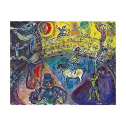 Eurographics 1000 db-os Puzzle - Marc Chagall - The Circus Horse - 6000-0851