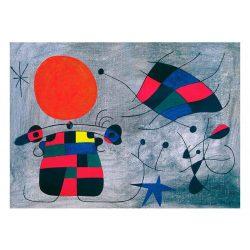 Eurographics 1000 db-os Puzzle - Joan Miro - Le Sourire aux Ailes Flamboyantes - 6000-0856