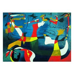 Eurographics 1000 db-os Puzzle - Joan Miro - Hirondelle Amour - 6000-0859