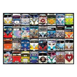 Eurographics 1000 db-os Puzzle - VW Bus - Cool Faces - 6000-0870