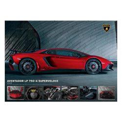 EuroGraphics 1000 db-os Puzzle - Lamborghini Aventador 750-4 SV - 6000-0871