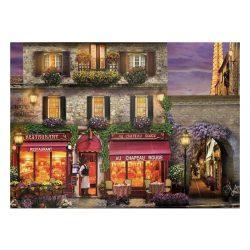 Eurographics 1000 db-os Puzzle - David Mc Lean - Restaurant au Chapeau Rouge - 6000-0963