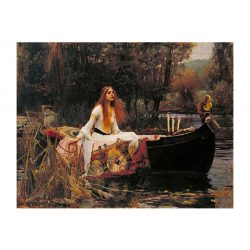 EuroGraphics 1000 db-os Puzzle - Waterhouse : The Lady of Shalott, 1888 - 6000-1133