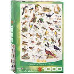 Eurographics 1000 db-os puzzle - Birds - 6000-1259