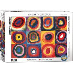 EuroGraphics 1000 db-os Puzzle - Kandinsky - Color Study - 6000-1323