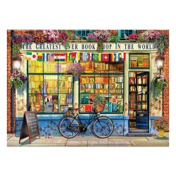 EuroGraphics 1000 db-os Puzzle - The Greatest Bookstore in the World - 6000-5351