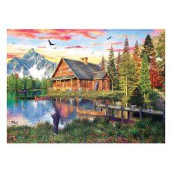 Eurographics 1000 db-os Puzzle - Dominic Davison - The Fishing Cabin - 6000-5376