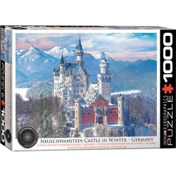 Eurographics 1000 db-os puzzle - Neuschwanstein in Winter, Germany - 6000-5419