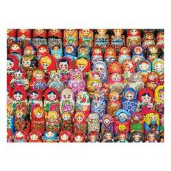 Eurographics 1000 db-os Puzzle - Russian Matryoshka Dolls - 6000-5420