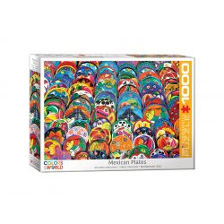 Eurographics 1000 db-os puzzle - Mexican Ceramic Plates - 6000-5421
