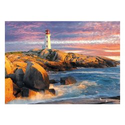 EuroGraphics 1000 db-os Puzzle - Peggy's Cove Lighthouse - 6000-5437