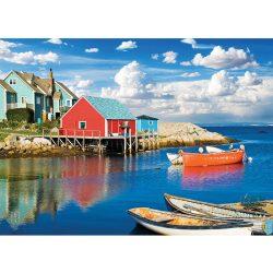 EuroGraphics 1000 db-os Puzzle - Peggy's Cove Nova Scotia - 6000-5438