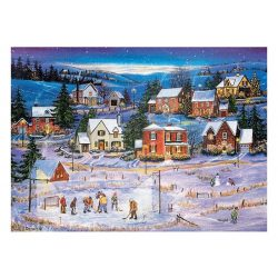 EuroGraphics 1000 db-os Puzzle - Stars on the Ice - 6000-5440