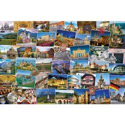 EuroGraphics 1000 db-os Puzzle - Globetrotter Germany - 6000-5465