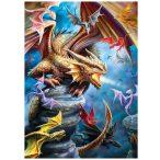 Eurographics 1000 db-os Puzzle - Anne Stokes  - Dragon Clan - 6000-5475
