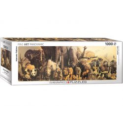 Eurographics 1000 db-os panoráma puzzle - Haruo Takino: Noah's Ark - 6010-4654