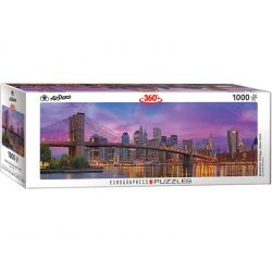 Eurographics 1000 db-os panoráma puzzle - Brooklyn Bridge, New York - 6010-5301