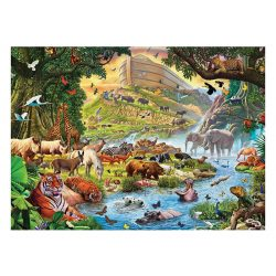 Eurographics 500 db-os puzzle - XXL Pieces - Familiy Puzzle: Steve Crisp - Noah's Ark Before the Rain - 6500-0980