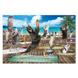 Eurographics 500 db-os puzzle - XXL Pieces - Yoga Spa - 6500-5454