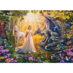 Eurographics 500 db-os puzzle - XXL Pieces - Princess' Garden - 6500-5458